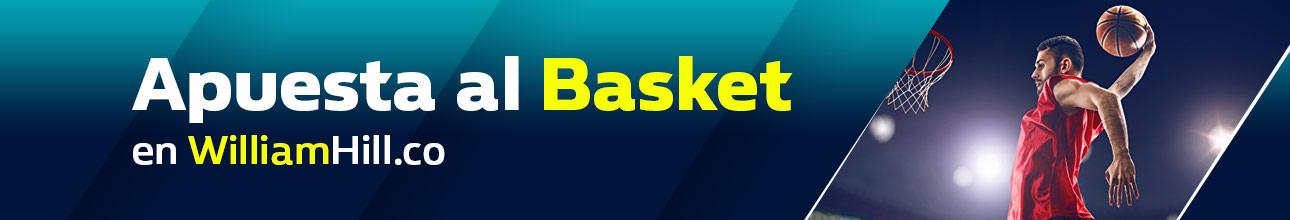Apuestas deportivas de baloncesto NBA William Hill