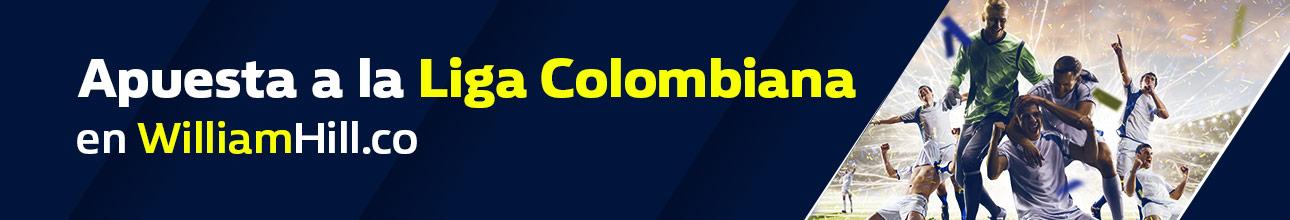 Apuesta a la Liga colombiana en William hill