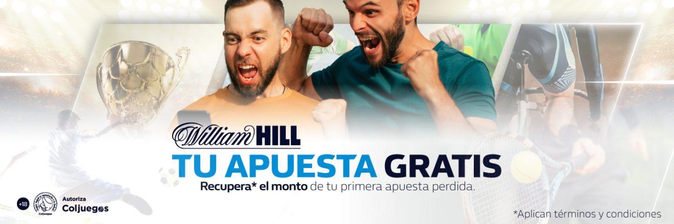 Apuesta gratis en William Hill